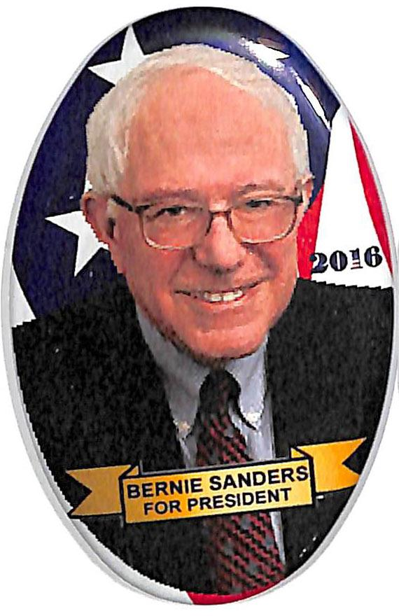 bernie sanders for president 2016 campaign buttons pins supplies