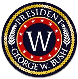 George W Bush Campaign Buttons For 2004 Election Page 1