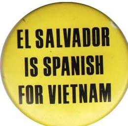 Cause and protest buttons protest buttons cause pins political el salvador is spanish for vietnam freerunsca Image collections