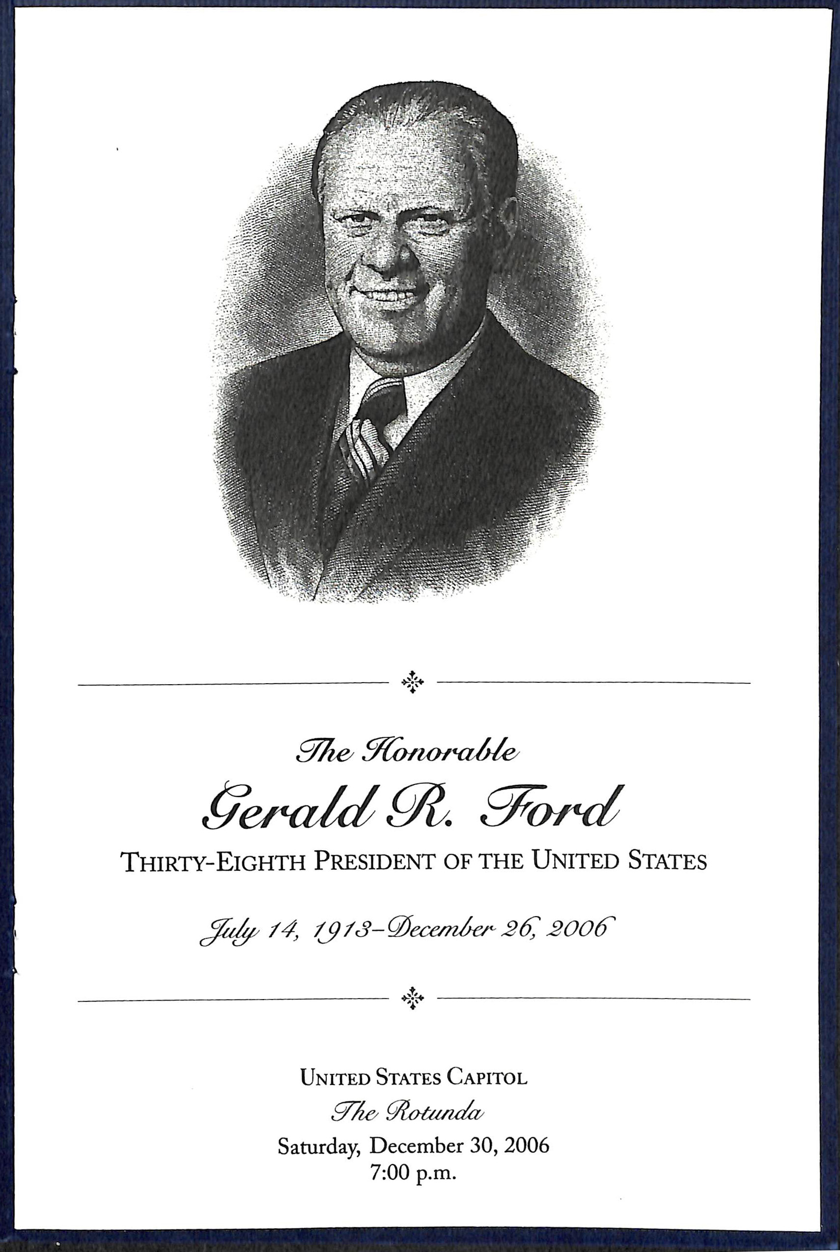 gerald ford funeral - photo #43