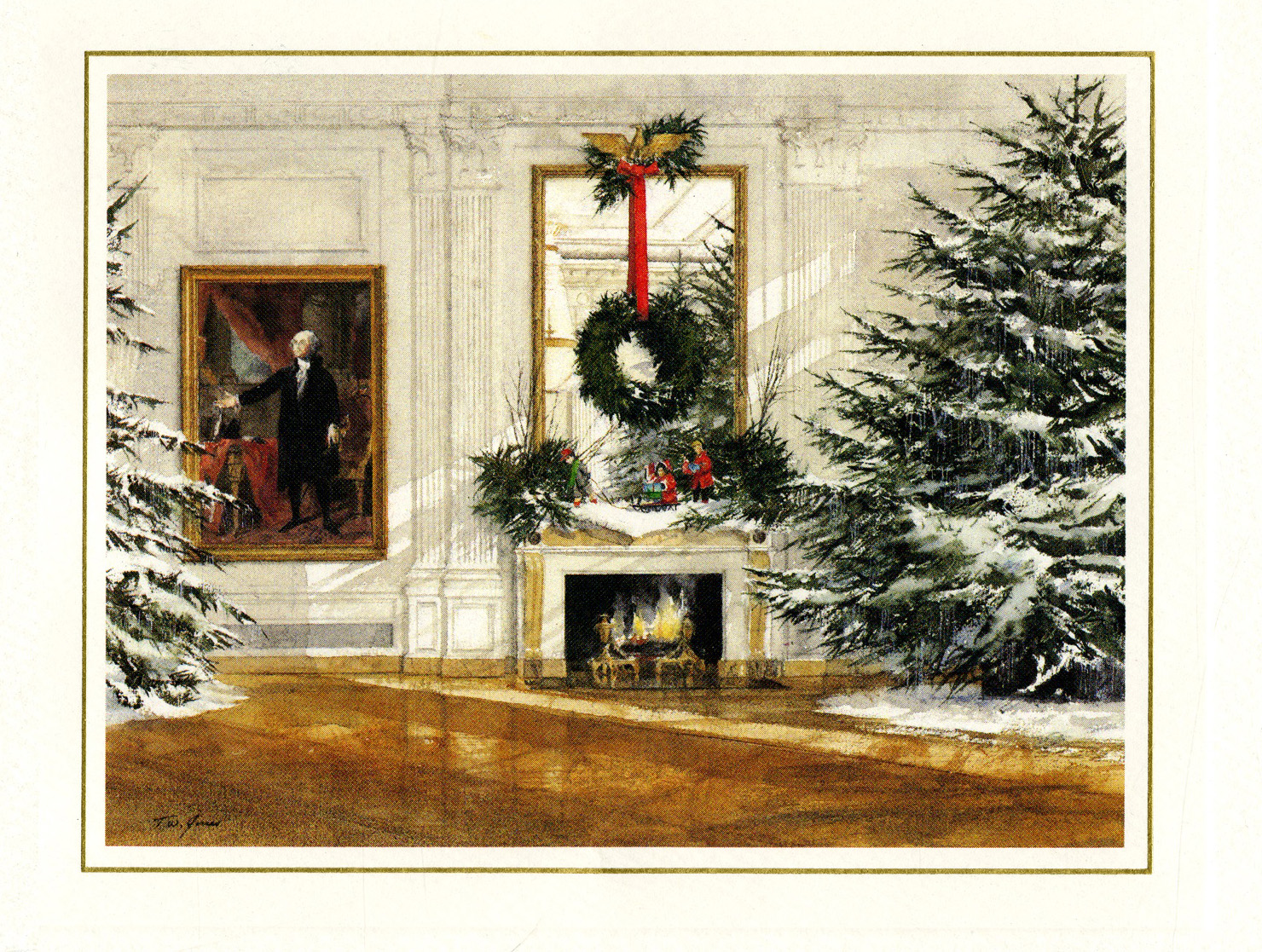 White House Christmas Cards