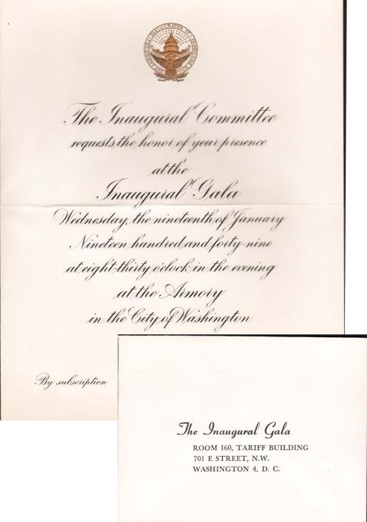 invitations inauguration