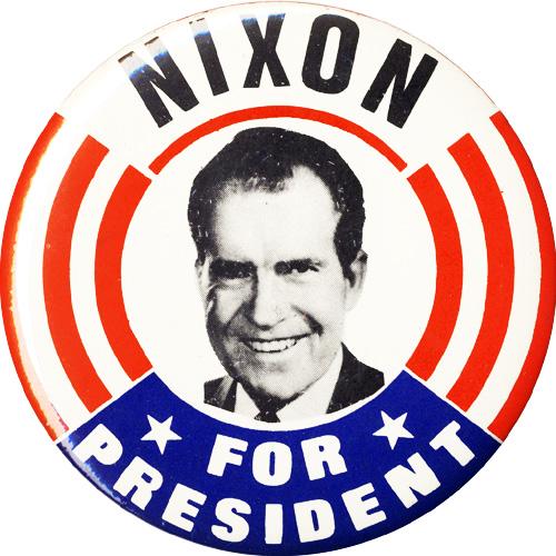 Rare Nixon Pins: Nixon Campaign Buttons And 1968 Campaign Richard Nixon Pins